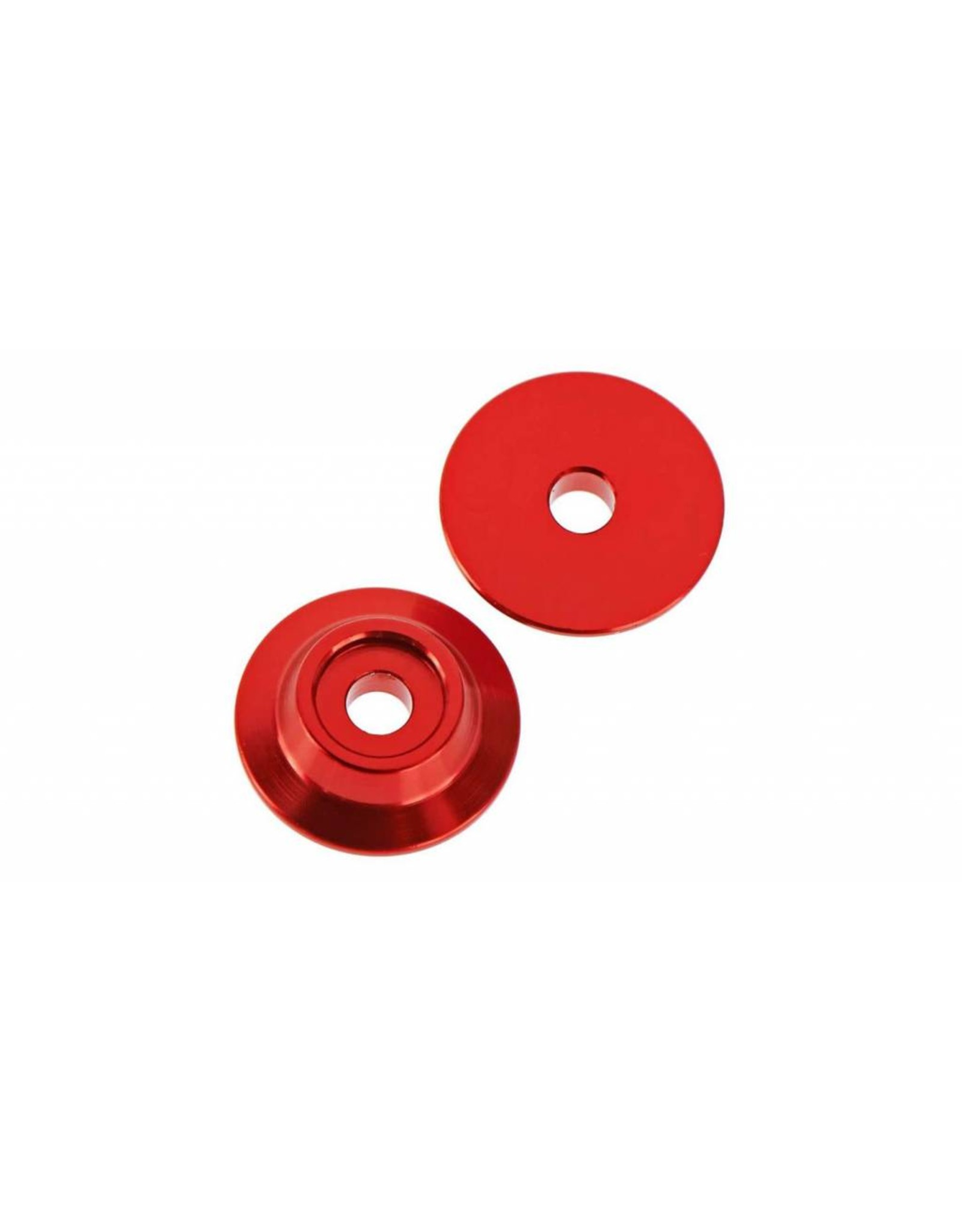 Arrma ARRMA Wing Button Aluminum Red TYPHON/TALION/KRATON (2)