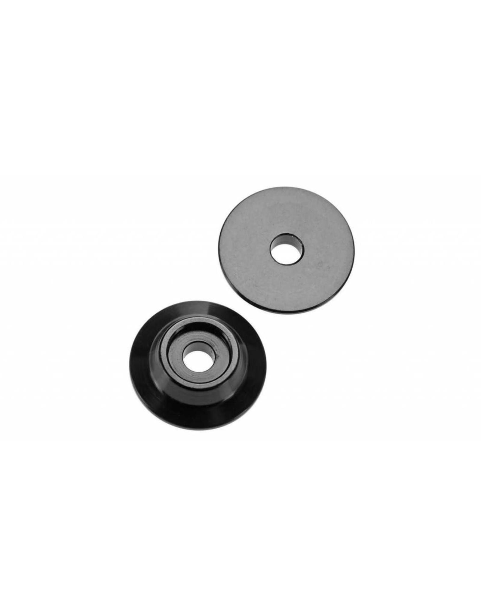 Arrma ARRMA Wing Button Aluminum Black TYPHON/TALION/KRATON(2