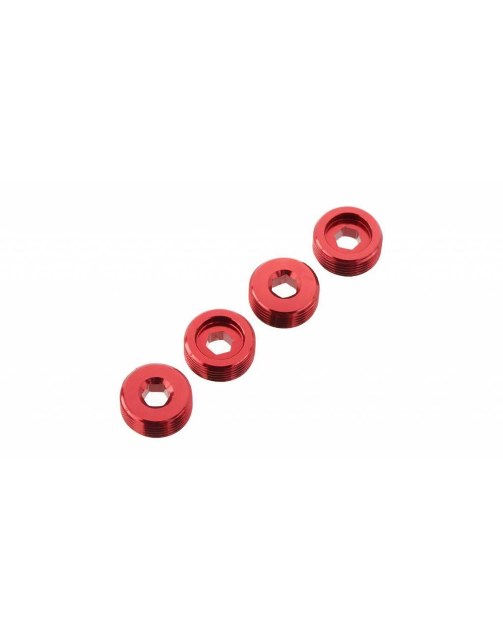 Arrma ARRMA Nut Front Hub Aluminum Red (4)