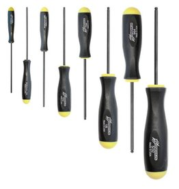 Bondhus Ball End Screwdriver 8 pc Set, .050-5/32  (BON10632)