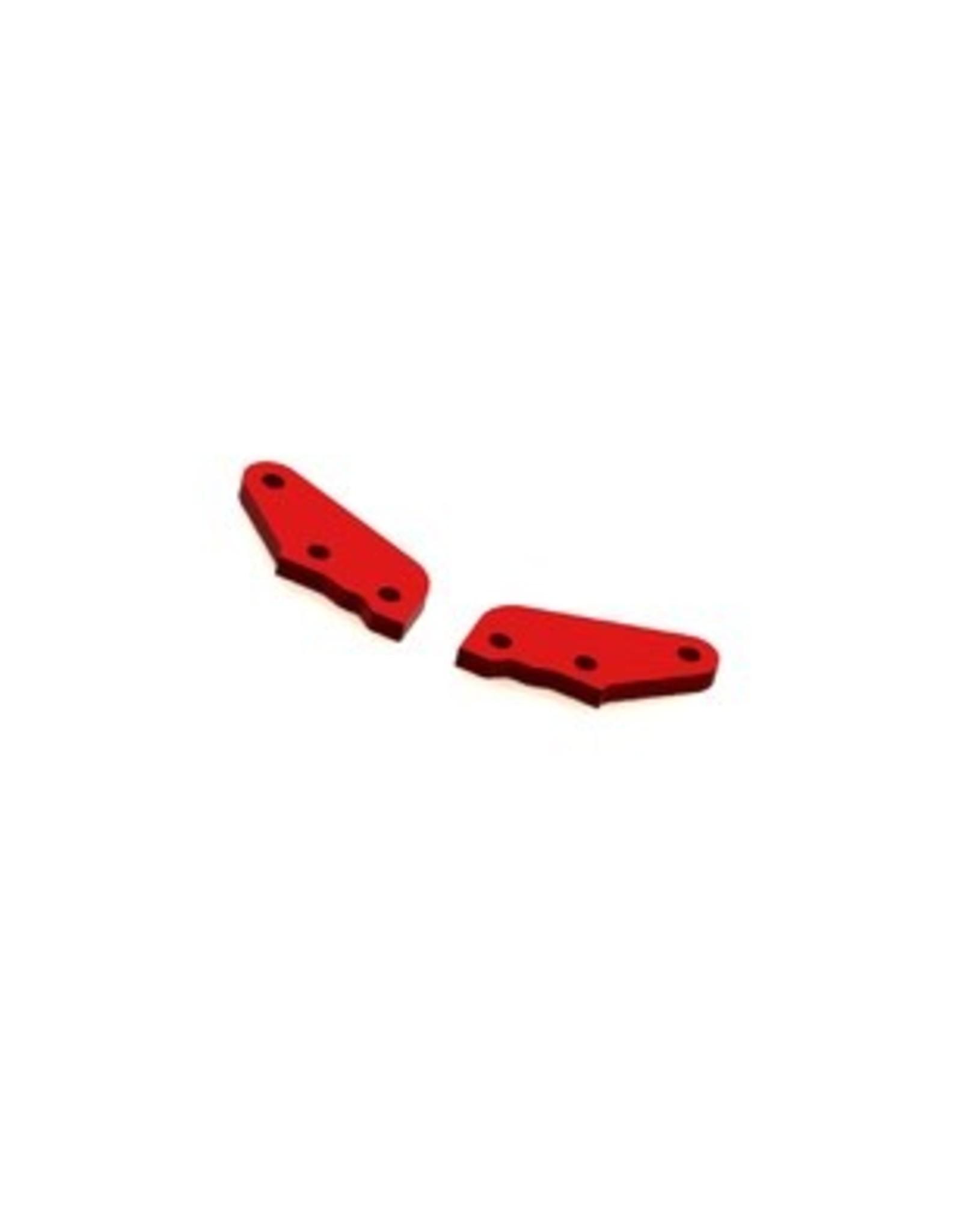 Arrma ARRMA Steering Plate A Aluminum Red (2)