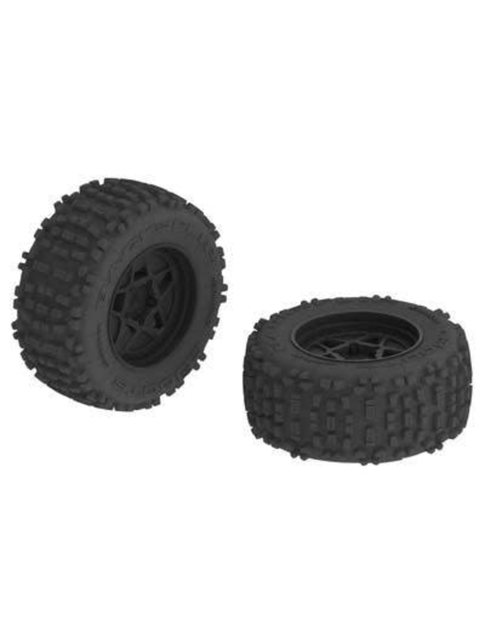 Arrma ARRMA dBoots Backflip MT 6S Tire Wheel Set  (AR510092)