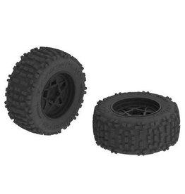 Arrma ARRMA dBoots Backflip MT 6S Tire Wheel Set  (AR510092)