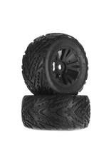 Arrma ARRMA Minokawa MT 6S Tire Wheel Glued Black (2)  (AR550034)