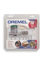 Dremel Cleaning/Polishing Set (20 pcs)  (DRE68401)