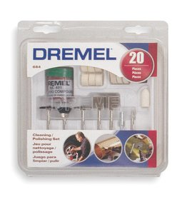 Dremel Cleaning/Polishing Set (20 pcs)
