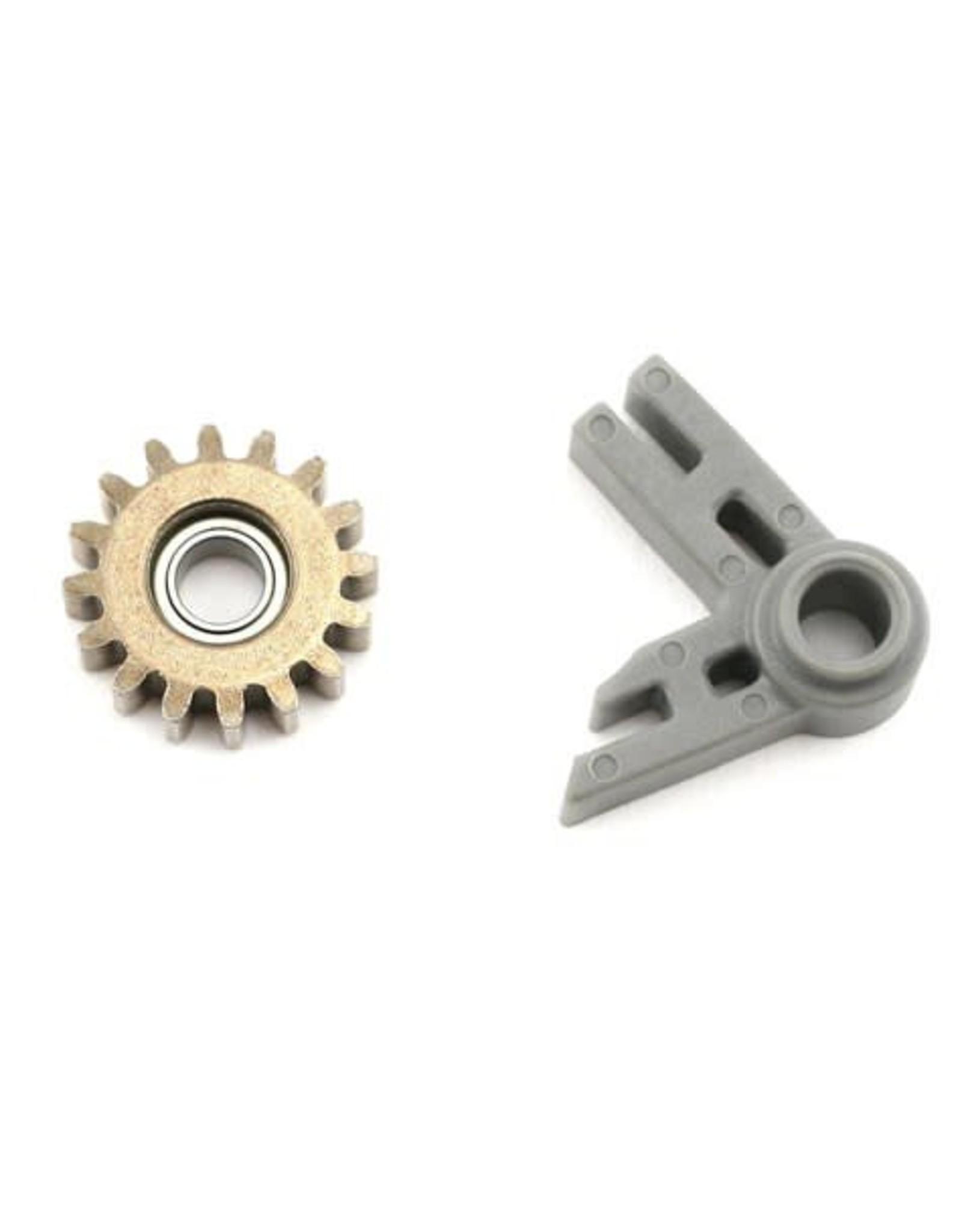 Traxxas Gear, idler/ idler gear support/ bearing (pressed in) / T-Maxx  (TRA5183)