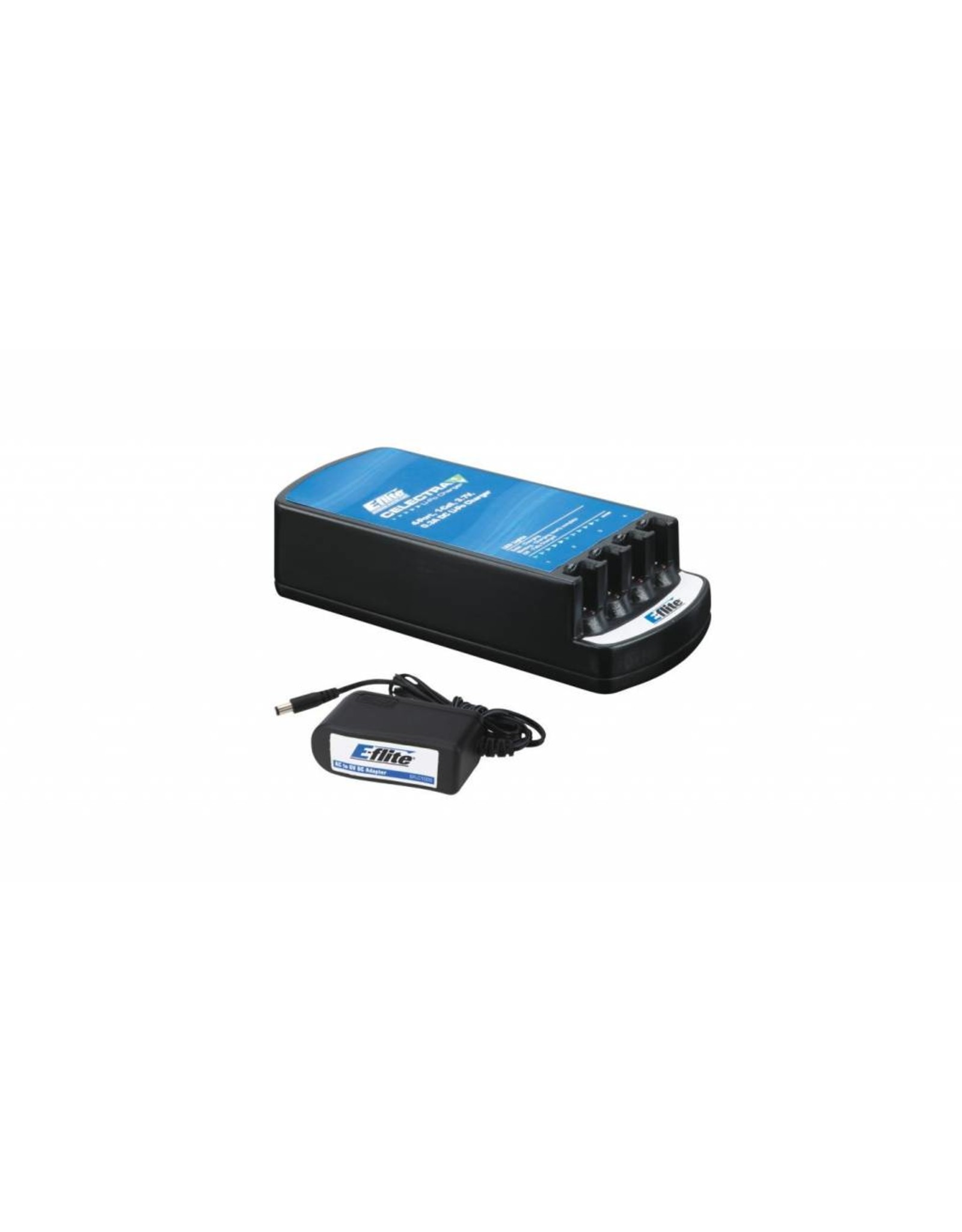 Eflite Celectra 4-Port Charger with AC Adapter Combo