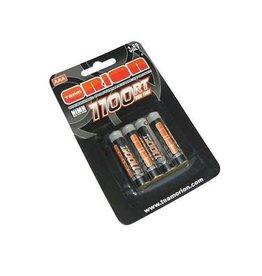 Orion 1.25V 1100mAh NiMH AAA Batteries (4)