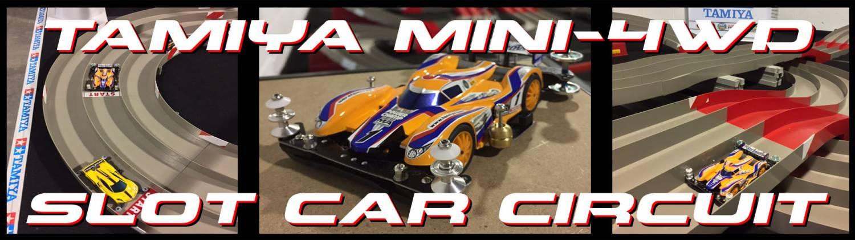 Tamiya Mini-4WD Slot Car Circuit