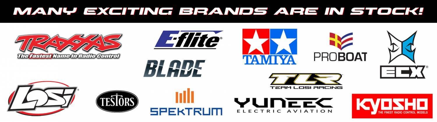 Many Exciting Brands Are In-Stock