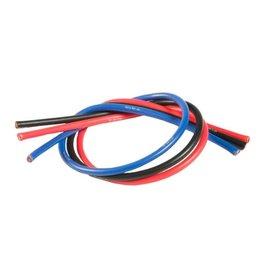 TQ Wire 13 Gauge Super Flexible Wire- 1' ea. Black, Red, Blue  (TQ1303)
