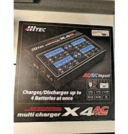 Hitec RCD X4 AC+ 4 Channel AC/DC Charger