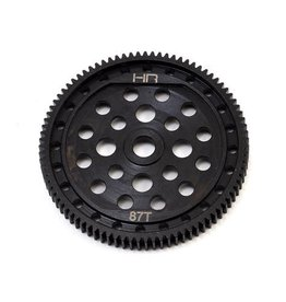 Hot Racing HOT RACING - STEEL 48 PITCH 87 TOOTH SPUR GEAR  (HRASECT887)