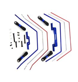 Hot Racing Front and Rear Wide Sway Bar Kit: 2wd Slash  (HRATE311SLC)