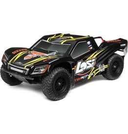 Losi 1/10 TENACITY SCT, 4WD, Brushless, RTR with AVC, Black/Yellow