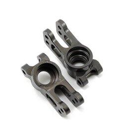 Losi Rear Hubs, Aluminum: TEN