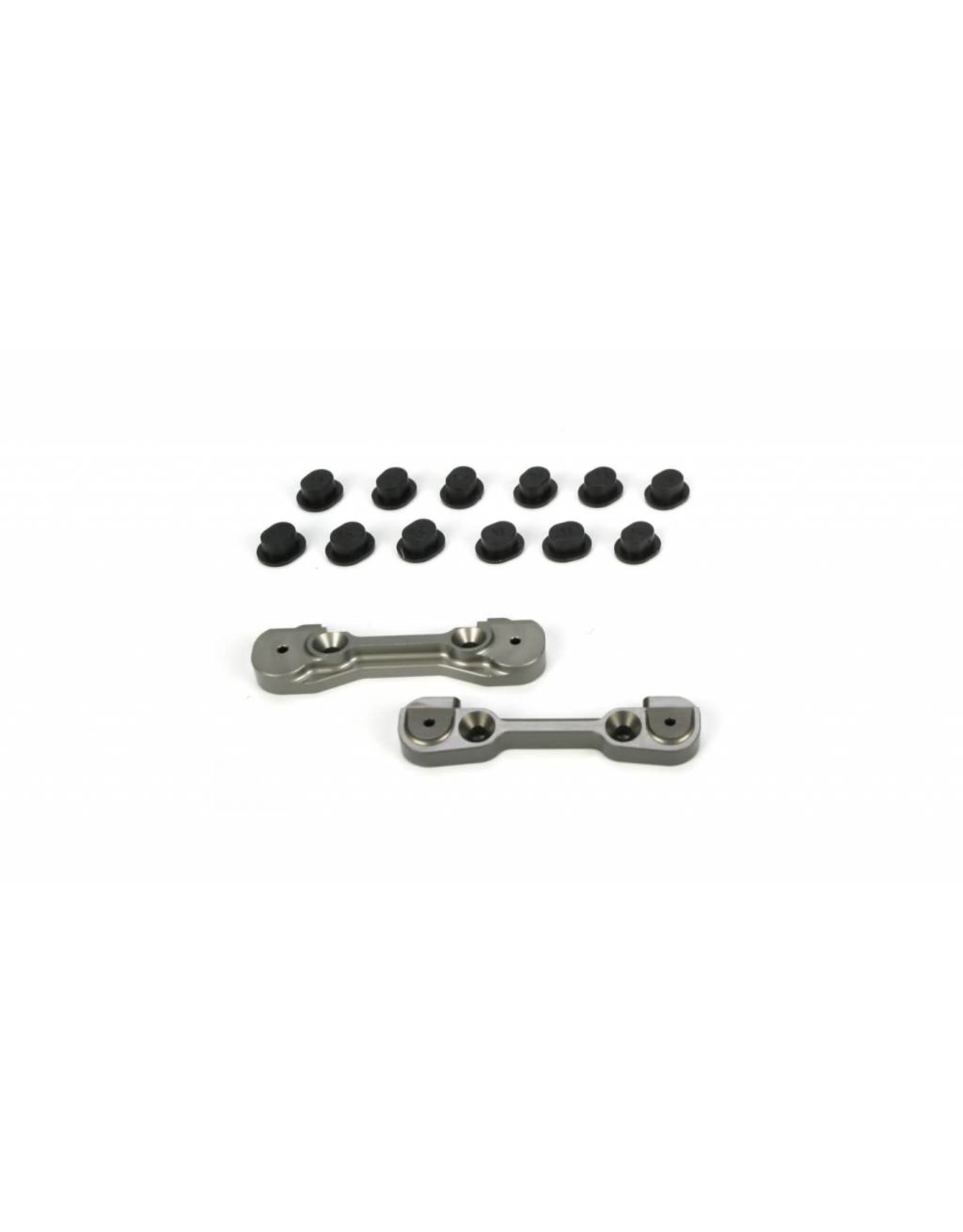 Losi Adjustable Front Hinge Pin Holder Set: TEN