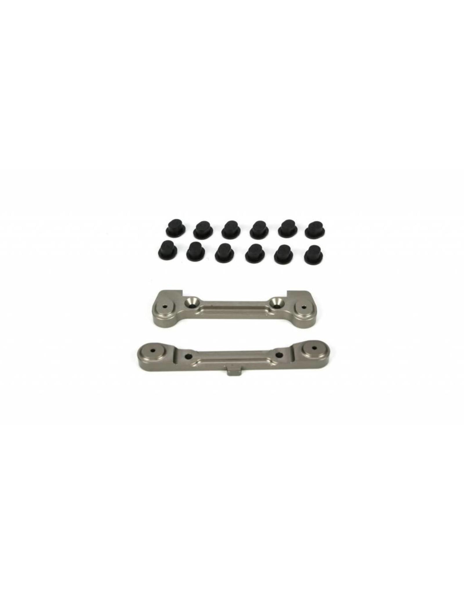Losi Adjustable Rear Hinge Pin Holder Set: TEN