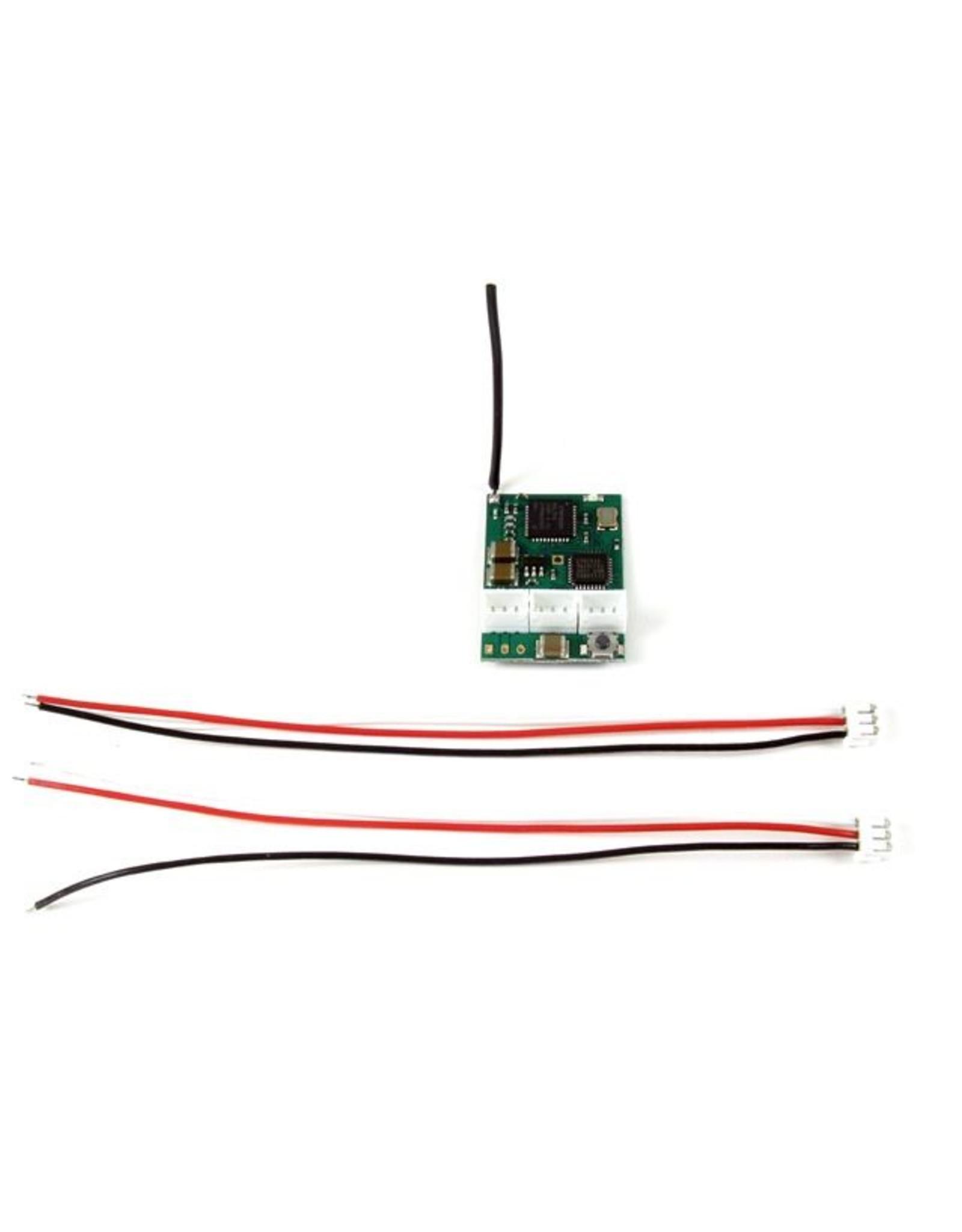 PN Racing PN Racing 2.4Ghz 3Ch Micro Receiver Compat Spektrum DSM2 (500806)