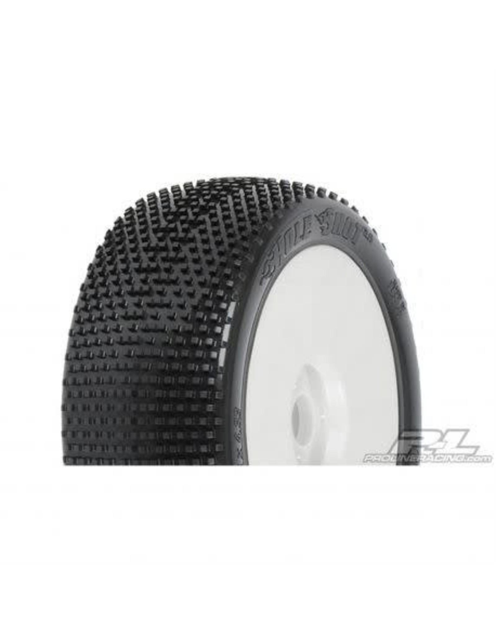 Pro-Line Racing 1/8 Holeshot X3 Mnt LTWT Velocity Wheel, White: BX