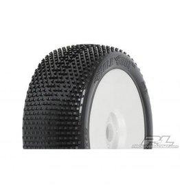 Pro Line 1/8 Holeshot X3 Mnt LTWT Velocity Wheel, White: BX