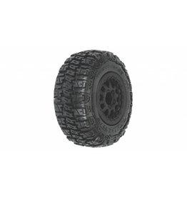Pro Line Trencher SC 2.2 3.0 M2 Mnt Renegade Wheel Blk SLH  (PRO115913)