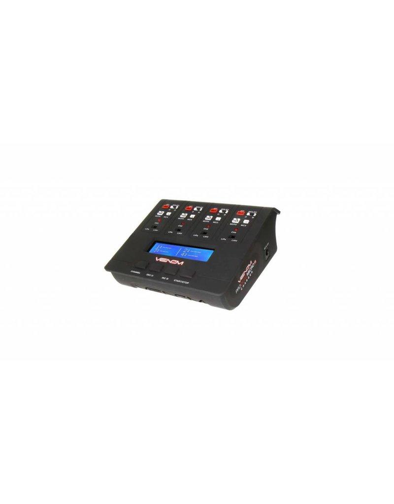 Venom Pro Quad Micro 1S 4 Ch AC DC LiPo & LiHV Charger (VNR0696)