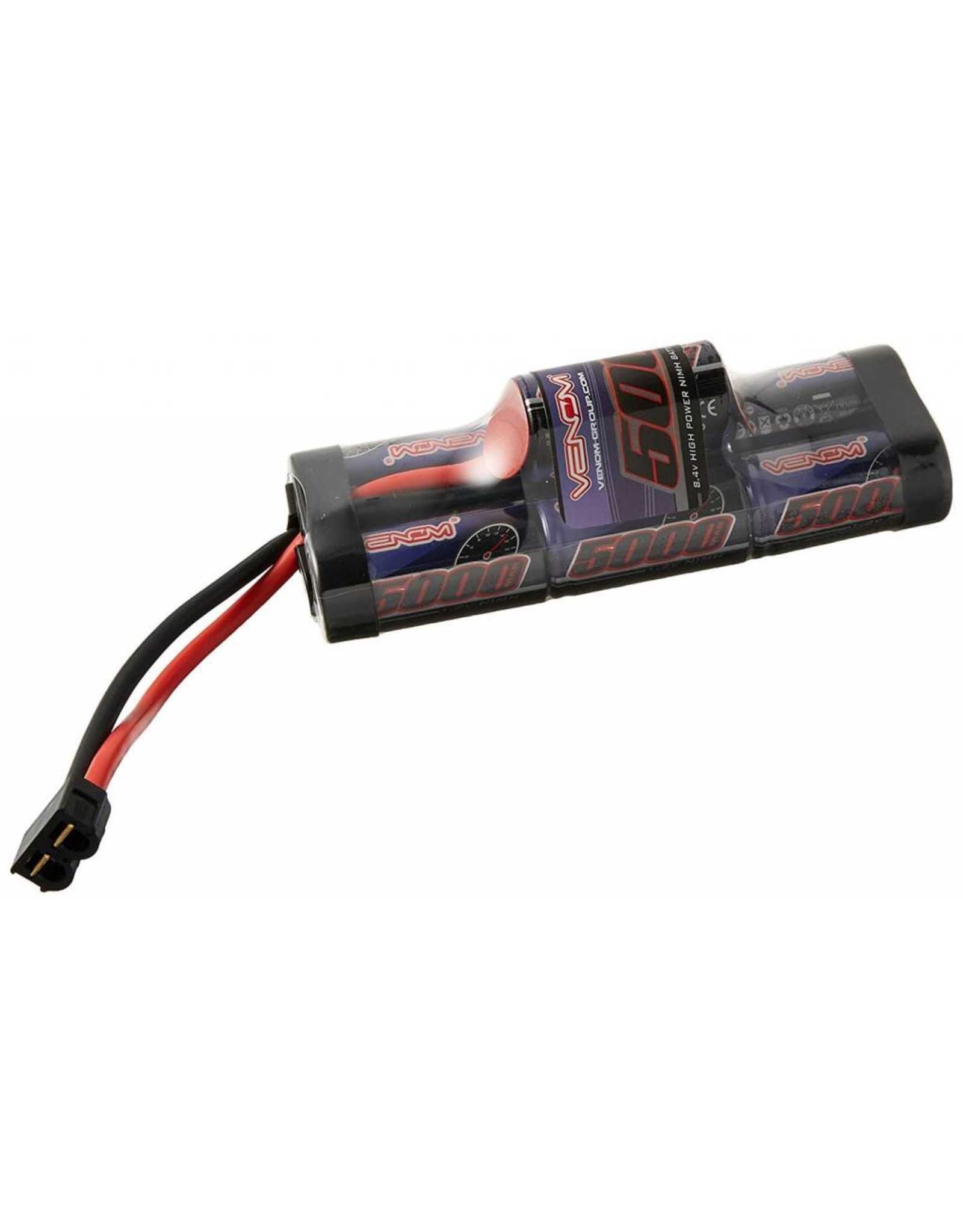 Venom Power 7-Cell 8.4V 5000mAh NiMH Hump Pack Battery: UNI 2.0 Plug (VNR1548-7)