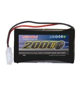 Venom 8-Cell 9.6V 2000mAh NiMH Battery: Tamiya Plug  (VNR1522)