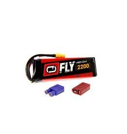 Venom Power Fly 11.1V 2200mAh 50C 3S LiPo, UNI 2.0  (VNR25033)