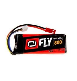 Venom FLY 800mAh 3S 11.1V 30C LiPO , JST