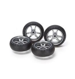 Tamiya Lg Diameter V Spoke Wheels (TAM15491)