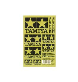 Tamiya Tamiya Logo Sticker (Gold)