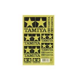 Tamiya Tamiya Logo Sticker (Gold)