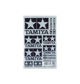 Tamiya Tamiya Logo Sticker (Silver)