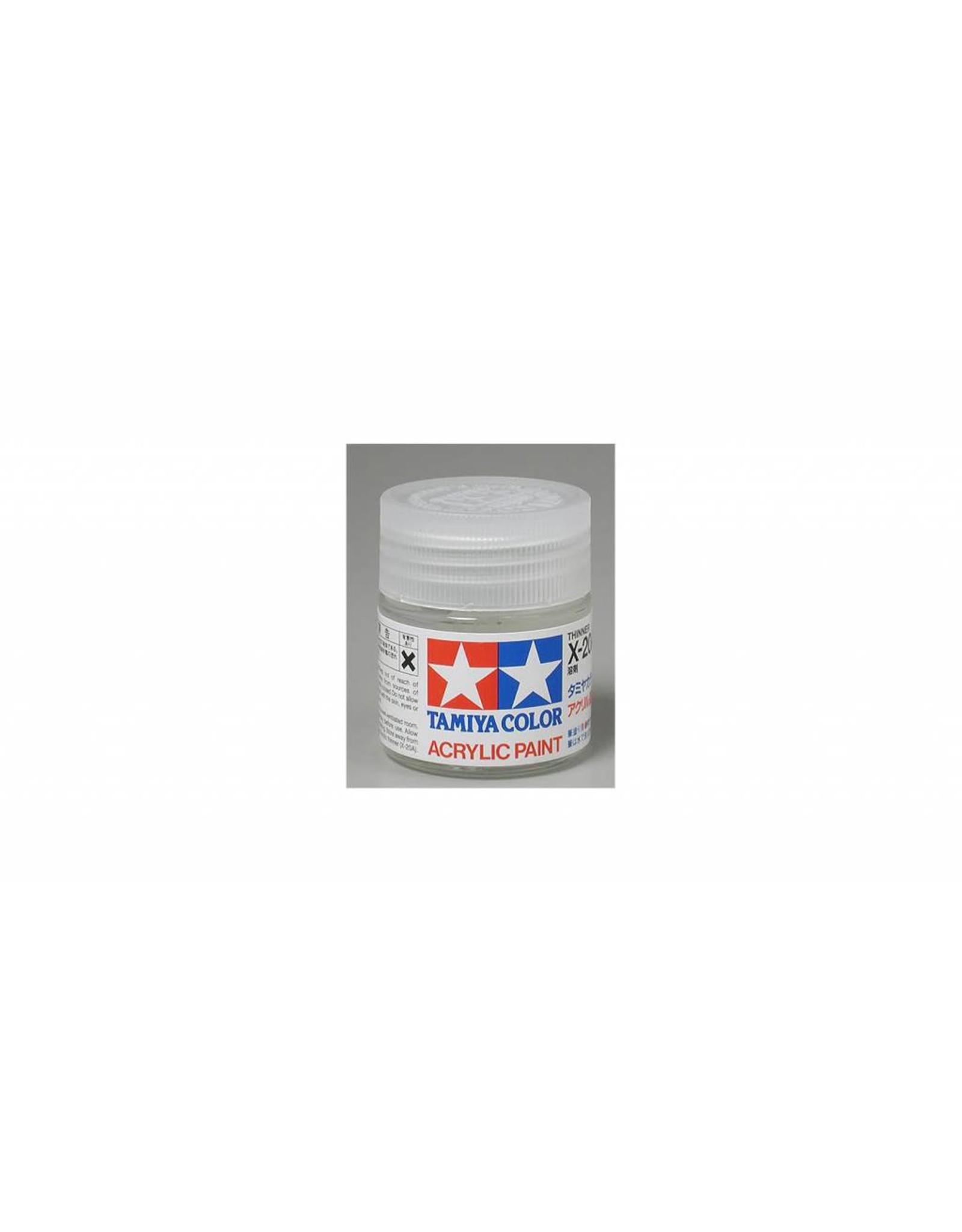 Tamiya Acrylic/Poly Thinner X-20A 23ml
