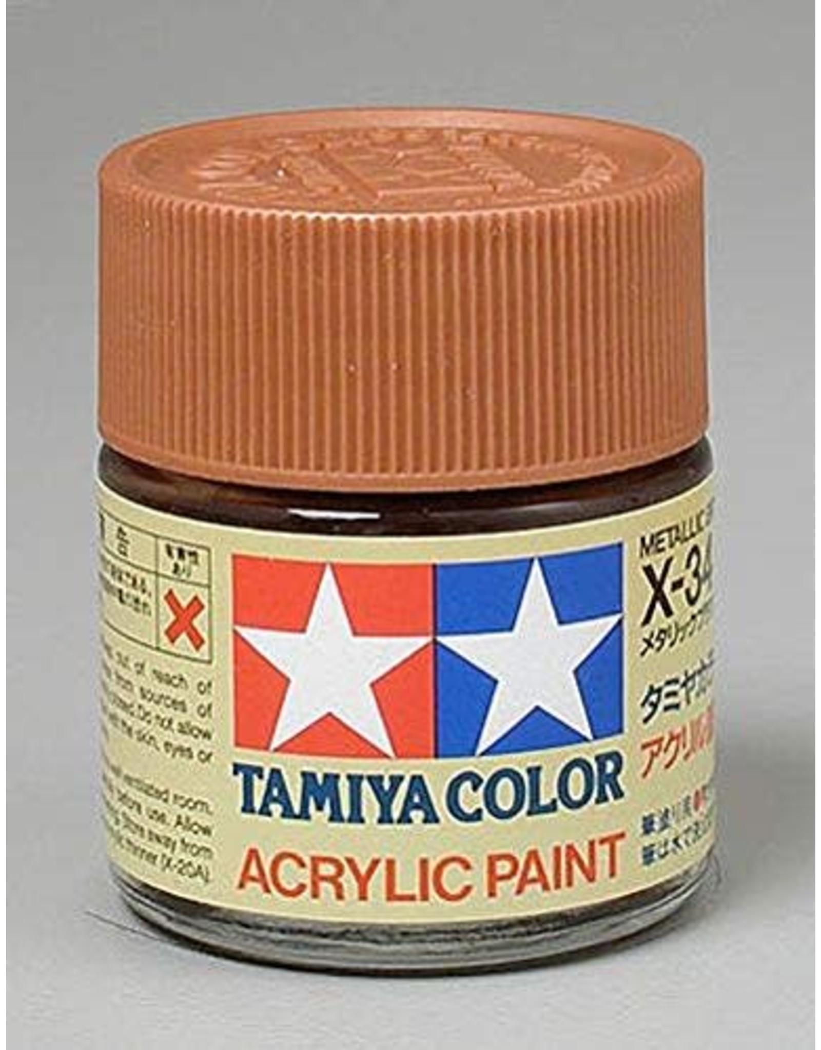 Tamiya Acrylic X-34 Metallic Brown