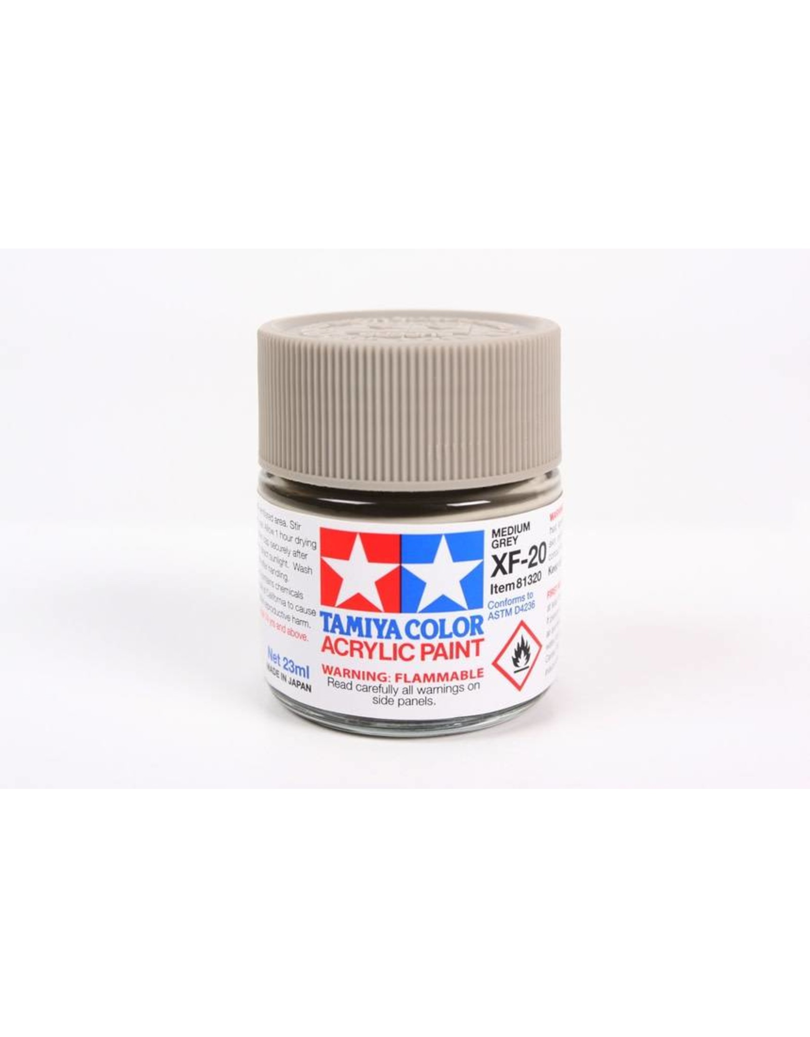 Tamiya Acrylic XF-20 Medium Grey