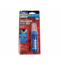 Tracks Hobbies Permatex 24010 Medium Strength Threadlocker Blue Gel, 10 g Gel Twist Applicator (PX24010)