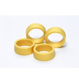 Tamiya LP Offset Tread Tires Hard/Yellow  (TAM95205)