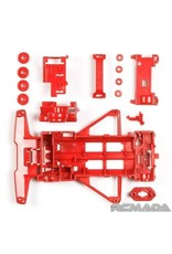 Tamiya FM Reinforced Chassis (Red)  (TAM95243)