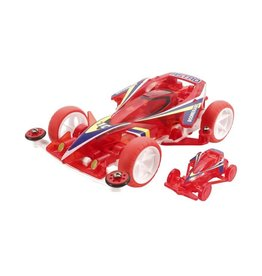 Tamiya JR Astro-Boomerang Clear Red Super-1 Chassis