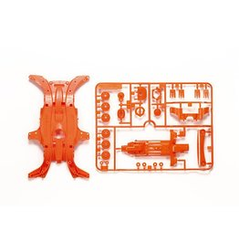 Tamiya JR MA Fluorescent Chassis - Orange  (TAM95320)