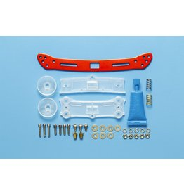 Tamiya JR Wide Rear Sliding Damper 2 - Red  (TAM95364)