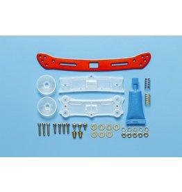 Tamiya JR Wide Rear Sliding Damper 2 - Red  (TAM95364)