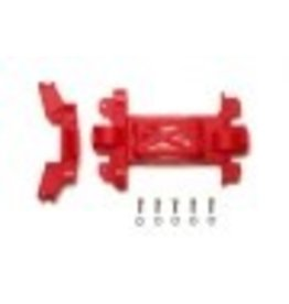 Tamiya JR Rein Gear Cover MS Chassis - Red Mini 4WD Station
