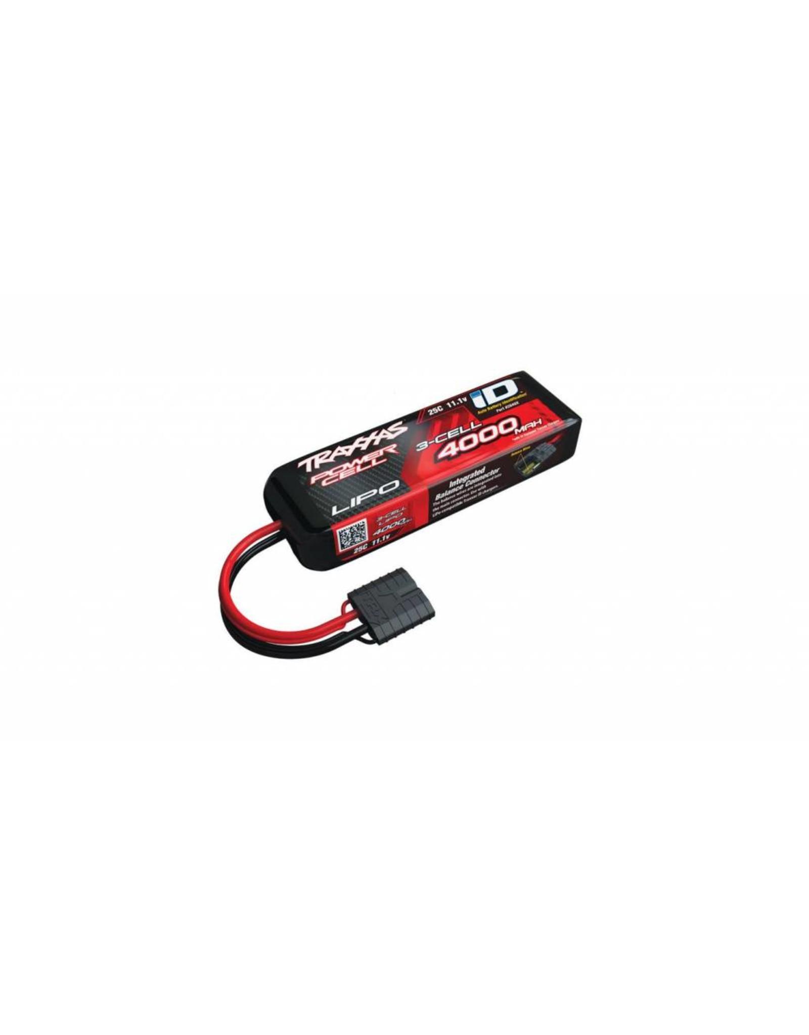 Traxxas 11.1V 4000mAh 25C 3S LiPo Battery with TRA ID  (TRA2849X)