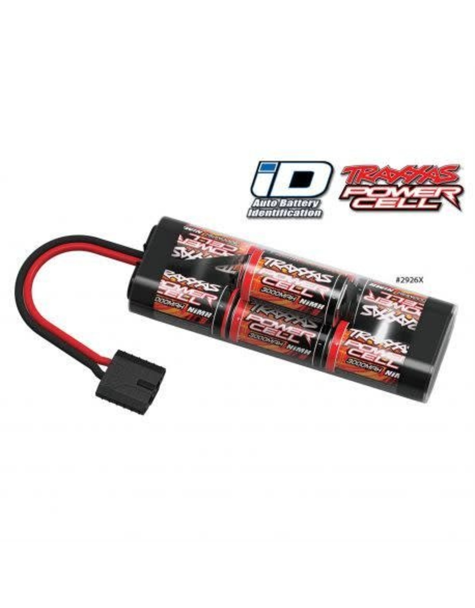 Traxxas 8.4V 3000mAh 7-Cell Hump NiMH Battery with TRA ID (TRA2926X)