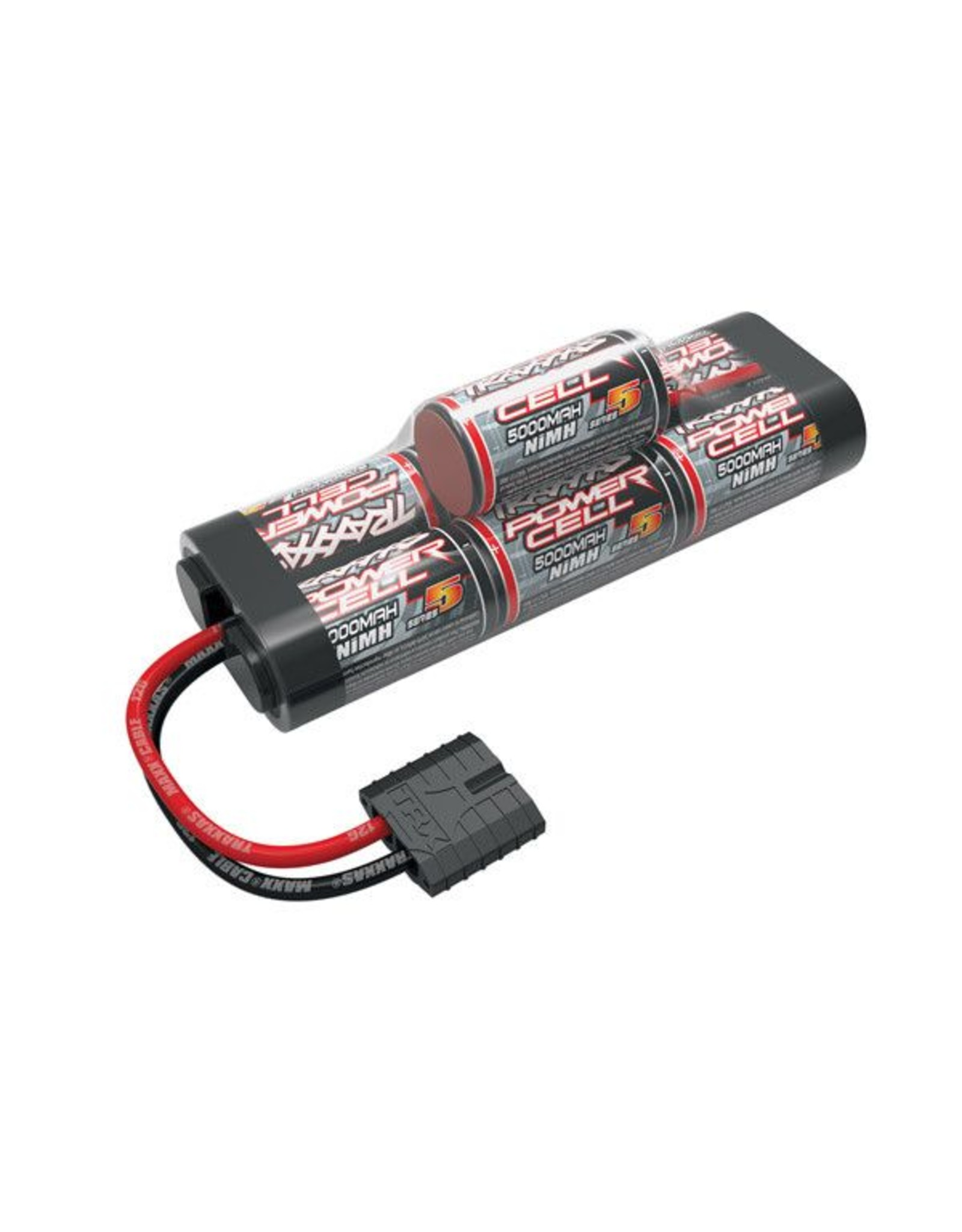 Traxxas 8.4V 5000mAh 7-Cell Hump NiMH Battery with TRA ID  (TRA2961X)